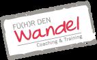 "Logo ""Fü(h)r den Wandel"""